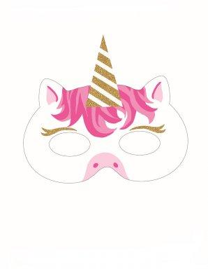 Masker Eenhoorn Mijn Mooiste Feestje